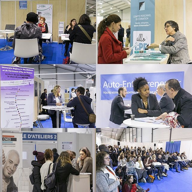Photos du salon 2017 Nouvelle Vie Pro